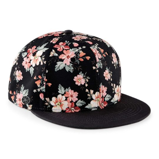 f-floral-black