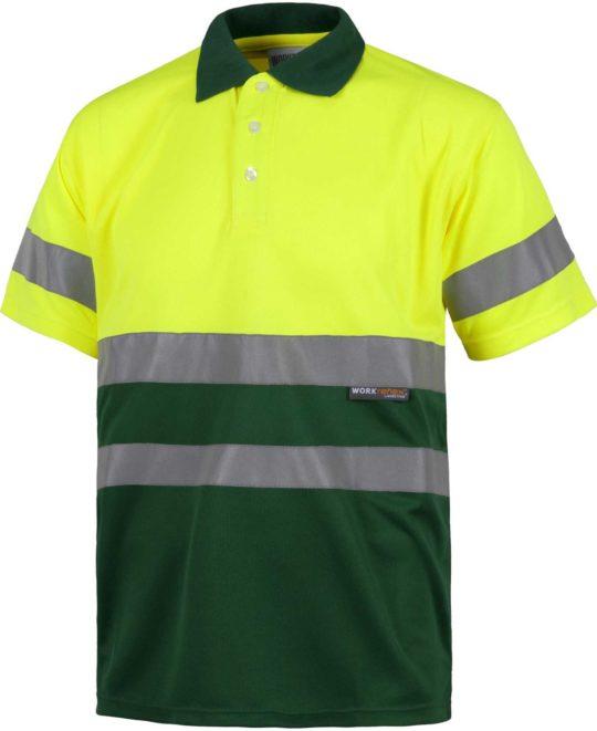 Amarillo A.V.-Verde Oscuro